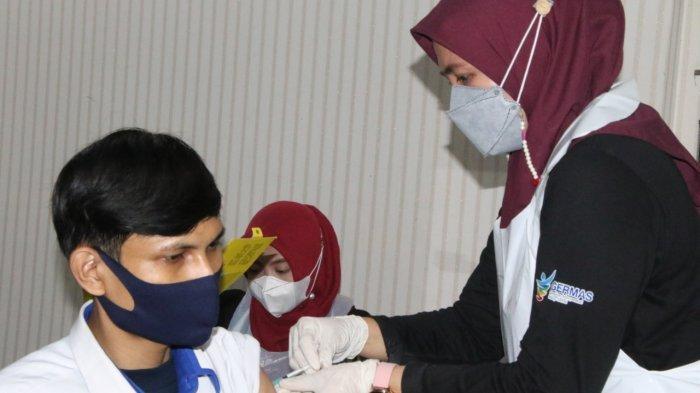 Ratusan Pegawai Dishub Kabupaten Serang Suntik Vaksin Covid-19, Empat Tahapan Harus Dilalui