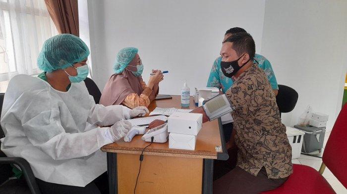 Masih Jauh dari Target, Baru 139.235 Warga Kota Tangerang Menerima Vaksin Covid-19
