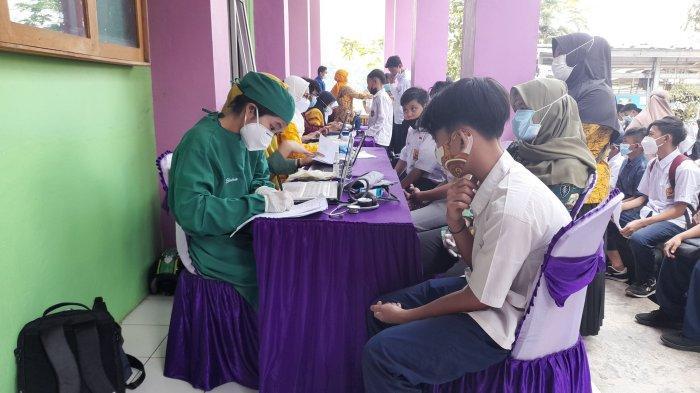 Vaksinasi Pelajar di Kota Serang Sudah 21 Persen