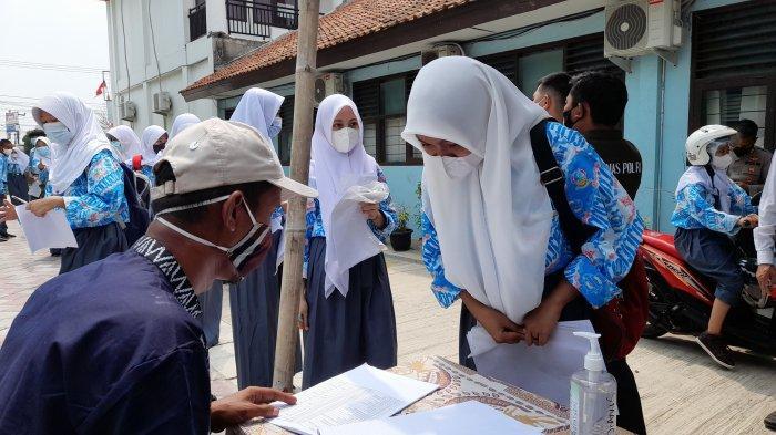 Sebanyak 632 Siswa SMAN 1 Ciruas Ikuti Vaksinasi, Kepsek Siap Gelar PTM