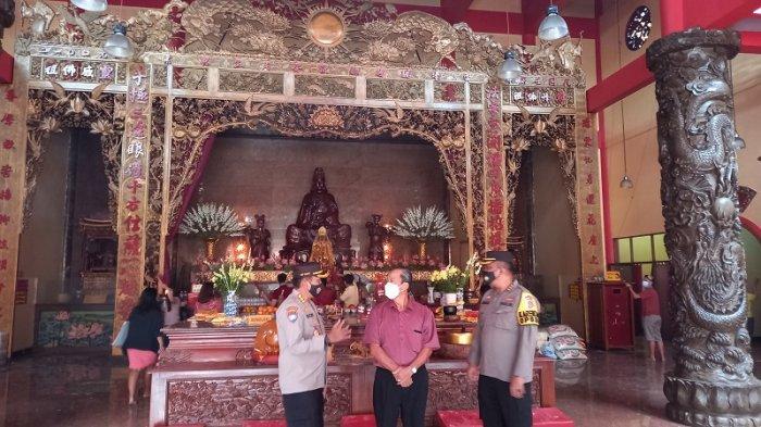 Datangi Vihara Avalokitesvara saat Imlek 2021, Karo Ops Polda Banten: Perayaan Aman dan Kondusif