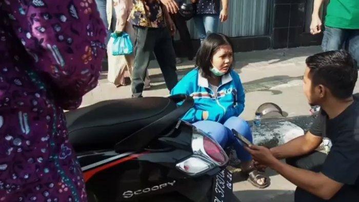 Viral Aksi Wanita Kejar Perampok Sambil Lawan Arus Hingga Tabrak Mobil, Begini Nasibnya