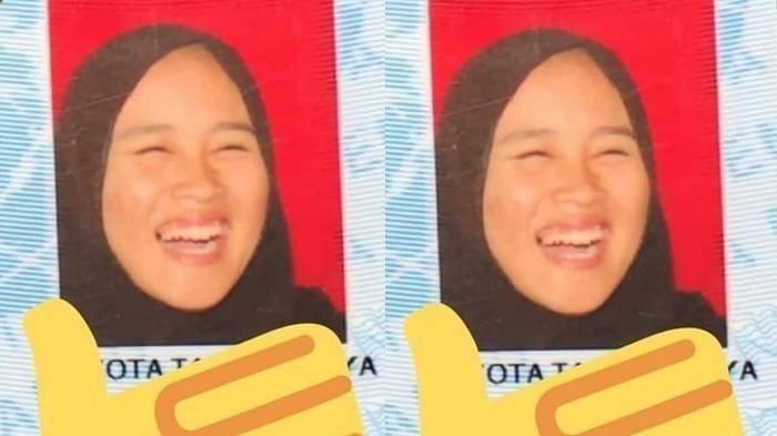 Viral KTP Gadis Cantik dengan Foto Tertawa Ngakak,Ini Nama dan Sosok Pemiliknya, Akui Sempat Malu