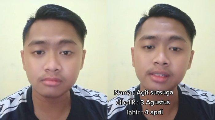 Viral Pemuda Diberi Nama Agit Sutsuga, Diambil dari Kebalikan Tiga Agustus, Padahal Lahir 4 April