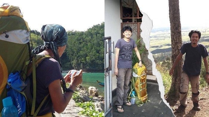 Viral Pria Jalan Kaki 3 Bulan dari Ciputat ke Gunung Rinjani: 'Ada Ular Lewat Pengen Ngajak Ngobrol'