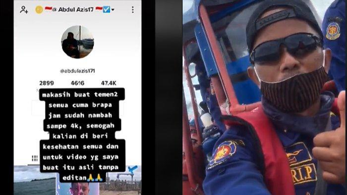 Viral Kisah Damkar Rekam Video Lalu Terdengar Suara Tolong Saat Cari Sriwijaya Air, Klaim Tak Diedit