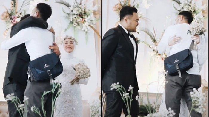 Viral Pengantin Pria Izinkan Istrinya Peluk Mantan Pacar di Pelaminan, Begini Kisah di Baliknya