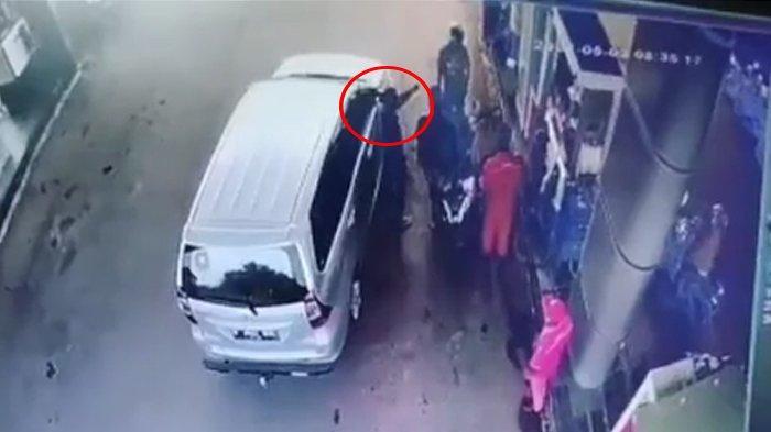 Viral Video Pria Mengaku Anggota Polda Banten Ancam Tembak Warga di SPBU, Begini Kronologinya