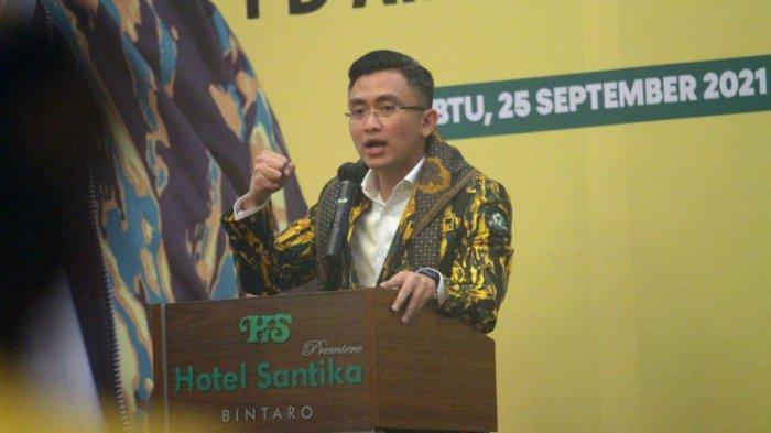Dibuka Wakil Gubernur Andika, Rakorda AMPG Provinsi Banten Kukuhkan Kepengurusan Pimpinan Pilar