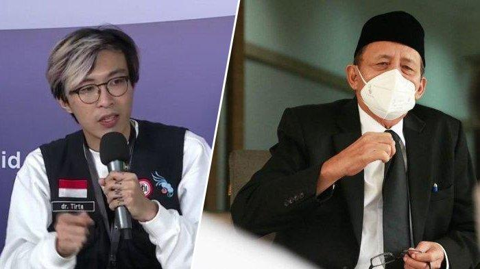dr Tirta Kritik Postingan IG Dinkes Banten, Wahidin Halim Tak Mau Meladeni: Dia Apa Sih Kerjanya?