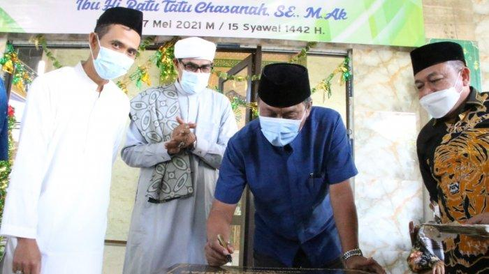 Wabup Serang Resmikan Masjid Jami Nurul Arafah di Bojonegara, Berharap Jadi Kiblat Peradaban Islam