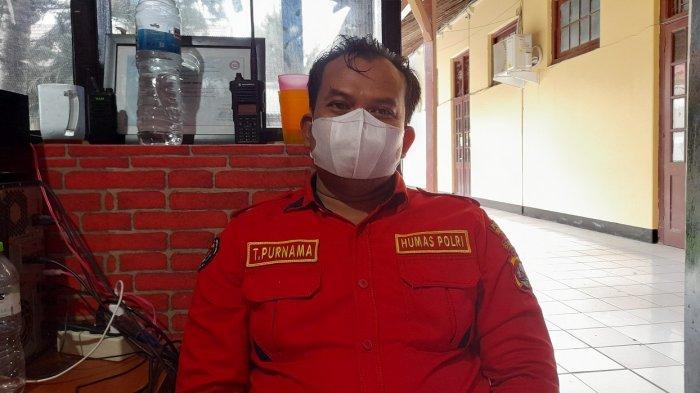 Wakil Direktur Humas Polres Serang Kota Aipda Taufik Purnama di Mapolres Serang Kota, Kamis (19/8/2021).