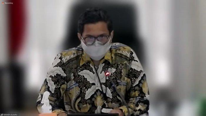 Wakil Menteri BUMN I Pahala Nugraha Mansury