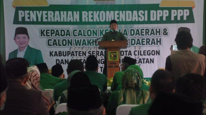 Wakil Wali Kota Serang Bersedia jadi Jurkam Tiga Jagoan PPP di Banten