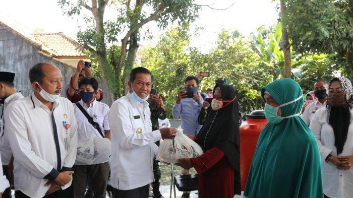 Aliansi Mahasiswa Minta Penegak Hukum Awasi Penyaluran Bantuan Sembako di Kota Serang