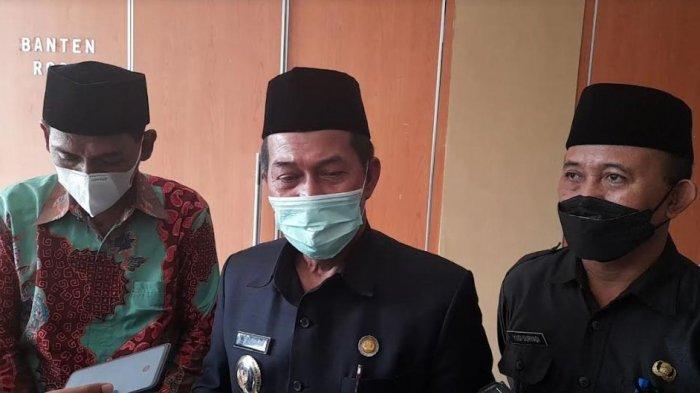 Wali Kota Serang, Syafrudin melakukan pembekalan terhadap peserta lomba MTQ tingkat Provinsi Banten