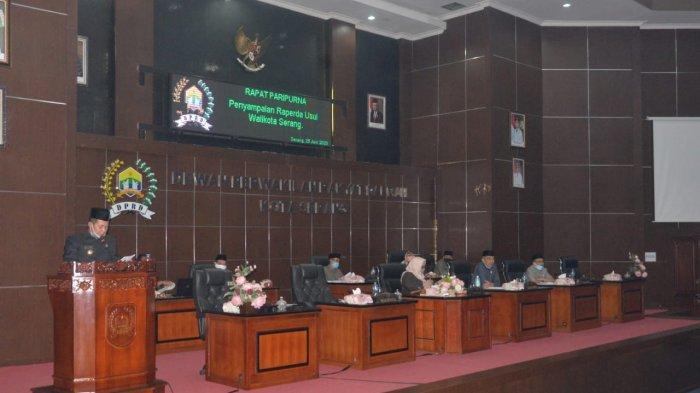 Wali Kota Serang Usul Raperda Keuangan Daerah Berbasis Elektronik dan Dana Cadangan Pilkada