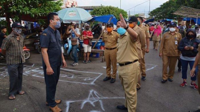 Tujuan Wali Kota Arief Ingin Seluruh Pasar Tradisional di Tangerang Gunakan Aplikasi PeduliLindungi