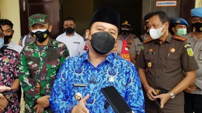 Wali Kota Tangerang Arief R Wismansyah meresmikan gedung Polsek Pinang, Kota Tangerang.