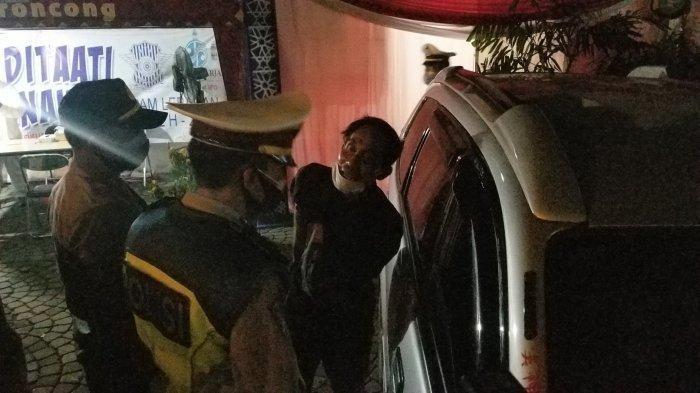 Mau ke Tangerang, Warga Serang Marah Diberhentikan di Pos Penyekatan, Ucap Kata 'Sehat' ke Petugas