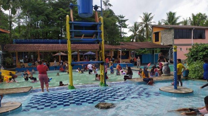 Beragam Wahana, 5 Kolam Renang, Spot Foto Instagramable, Waterpark BIM Lebak Jadi Tujuan Rekreasi