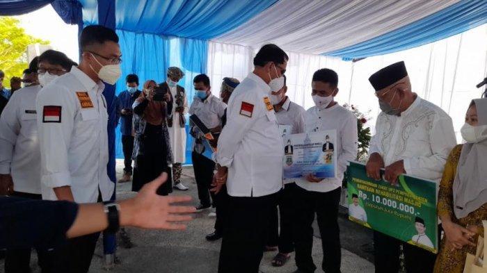 Temui Banyak Bangunan Liar di Sepanjang Pantai Tanjung Lesung, WH: Pantai Itu Milik Publik