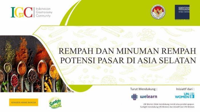 Rempah Buat Indonesia Dikenal, Potensi Pasar Hingga Asia Selatan, IGC: Warisan Harus Dilestarikan