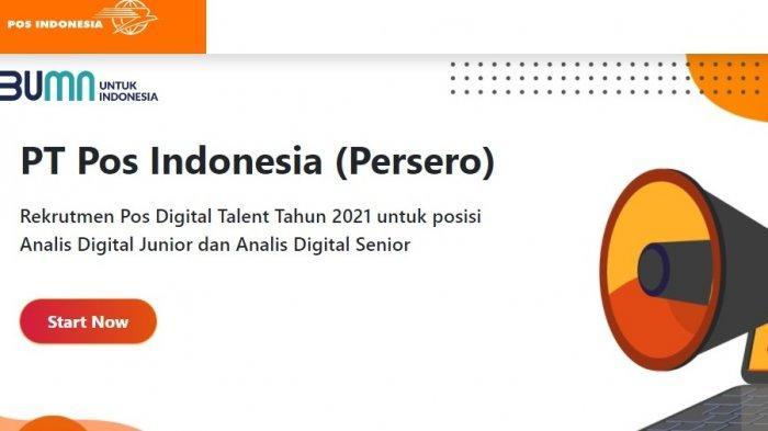 Lowongan Kerja PT Pos Indonesia Terbaru 2021, Ada 25 Posisi untuk Lulusan D3 dan S1, Ini Syaratnya