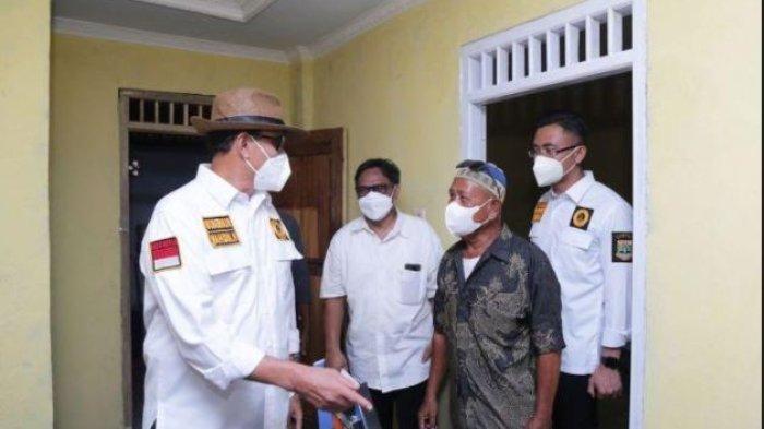 Pantau Bangunan RTLH Untuk Warga Pandeglang yang Terdampak Tsunami, WH: Kita Bangun dengan Layak