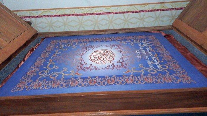 Wisata Religi di Cilegon: Al-Quran Raksasa Karya Ulama Ahmad Basharudin, Masih Terawat di Usia 30an