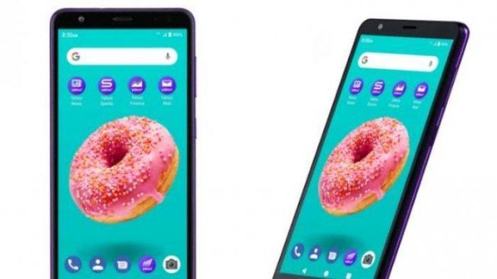 Yahoo Luncurkan Smartphone Perdana Seharga Rp 700 Ribuan, Bisa Internet Tanpa Batas dan Gratis