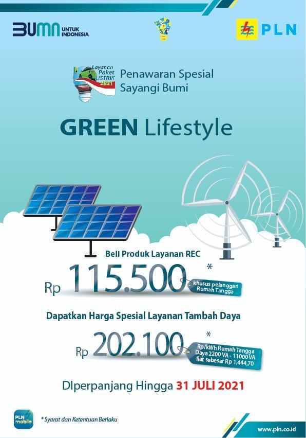 Sebanyak 1.897 pelanggan PLN UID Banten sudah mendaftar untuk mengikuti program promo tambah daya listrik PLN Green Lifestyle.