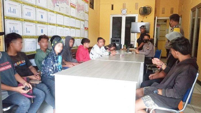 Kedatangan Tamu Polisi, Pesta Miras 13 Anak Muda di Lapangan Kembangan Purbalingga Langsung Bubar