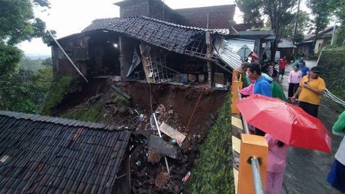 15 Rumah di Bedono Kabupaten Semarang Rusak Akibat Longsor, Dipicu Hujan Deras 3,5 Jam