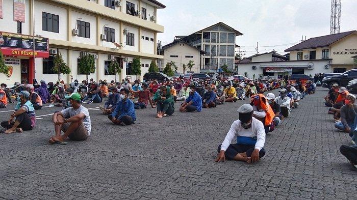 281 Orang Terjaring Razia Preman di Kota Semarang, Mulai Juru Parkir Liar hingga Anak Jalanan