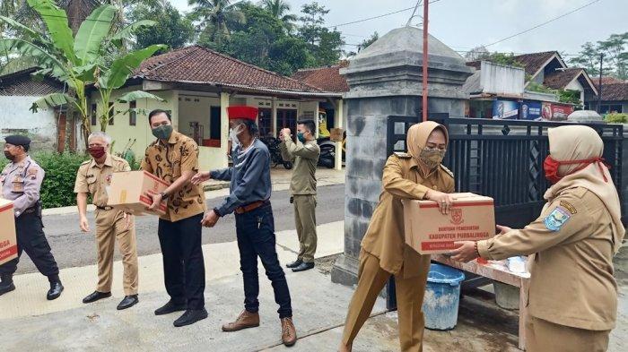 Pemdes Lockdown 3 Dusun di Purbalingga karena Ada Warga Terjangkit Corona, Pemkab Berikan Bantuan