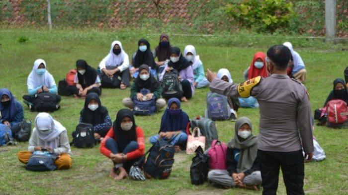 Jalani Karantina Terpusat, 90 Siswa SMP Negeri 4 Mrebet Purbalingga Tempati 9 Ruang Kelas