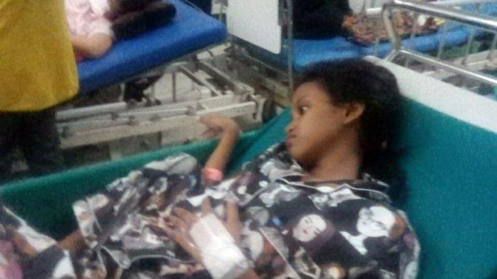Alita Sering Teriak Tidak Kuat Menahan Sakit, Derita Bocah SD Pengidap Kista di Kota Semarang
