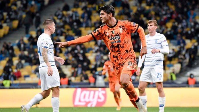 Hasil Liga Champions: Tanpa Ronaldo, Juventus Gulung Dynamo Kyiv 0-2 di Laga Perdana Grup G
