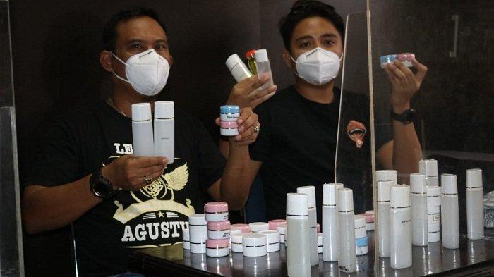 Jual Kosmetik Tanpa Izin Edar, Warga Banjarnegara Jadi Tersangka. Dibeli via Online dari Bandung
