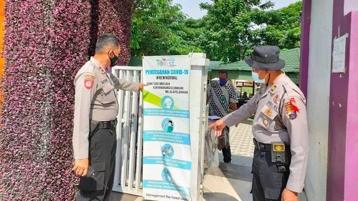 Polisi Cek Prokes Tempat Wisata di Baturraden Banyumas Jelang Libur Lebaran, Ini Hasilnya