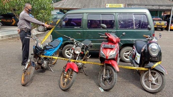 Polisi Kukut 4 Motor dan 5 Pemuda, Tertangkap saat Balap Liar di Jalan Gandarum Kajen Pekalongan