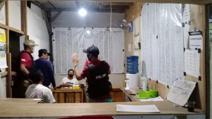 Satpol PP Kota Semarang Oprak Judi Togel Jelang Ramadan, Meja dan Catatan Rekapitulasi Nomor Dikukut
