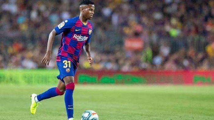 Barcelona Tolak Tawaran Rp1,6 Triliun untuk Ansu Fati dari Manchester United