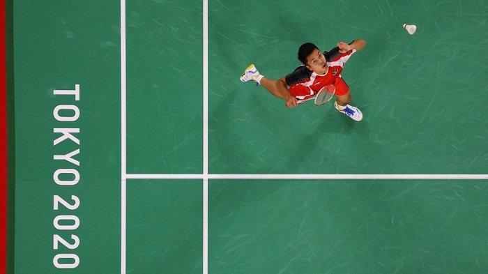Tantang Kevin Cordon, Sinisuka Ginting Siap Rebut Medali Perunggu di Olimpiade Tokyo 2020