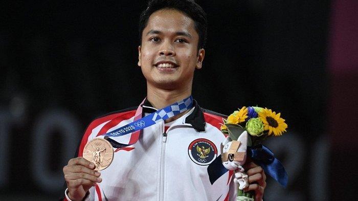 Sinisuka Ginting Raih Perunggu, Paceklik Medali Tunggal Putra Bulutangkis di Olimpiade Berakhir