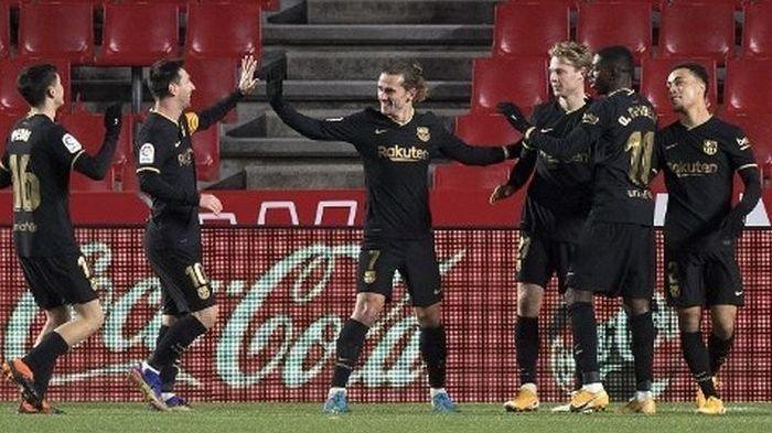 Menang 0-4 Atas Granada, Barcelona Mulai Pede Bahas Perebutan Gelar Liga Spanyol
