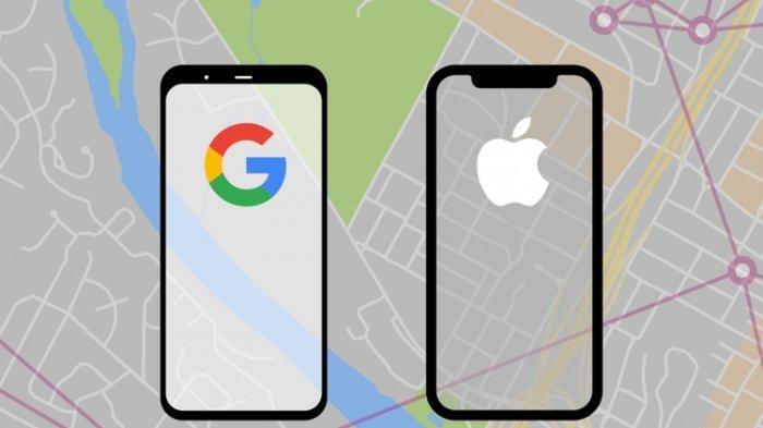 Lupakan Persaingan Layanan Digital, Apple dan Google Siapkan Sistem Lacak Virus Corona
