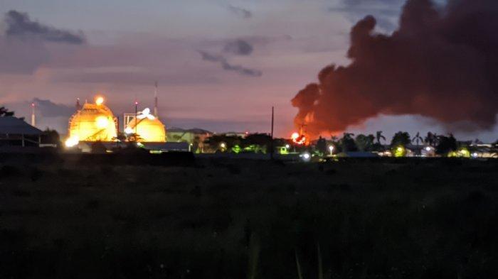 Kobaran Api Kembali Muncul di Tanki Benzene Kilang Pertamina RU IV Cilacap, Ini Penjelasan GM