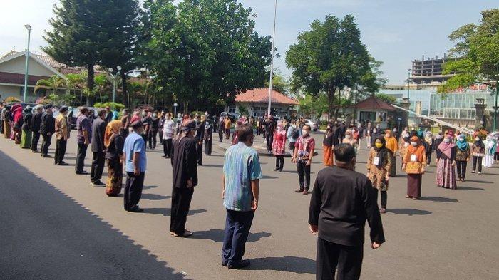 Peringati Hari Kebangkitan Nasional, ASN Pemkab Banyumas Serentak Nyanyikan Lagu Indonesia Raya